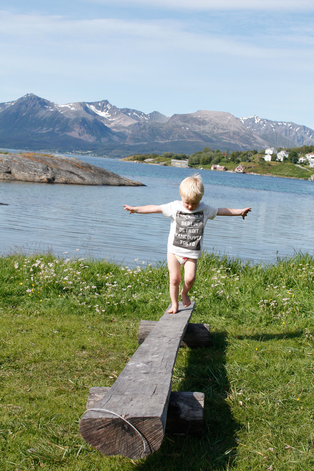Sommer i nord norge